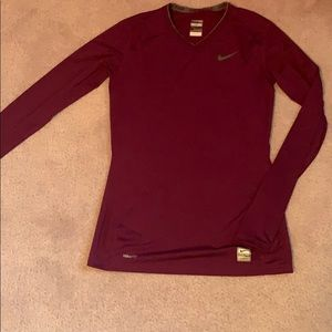 Nike Pro XS Long Sleeve Athletic Top